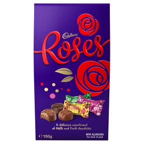 Cadbury Roses Chocolate Gift Bag 150g