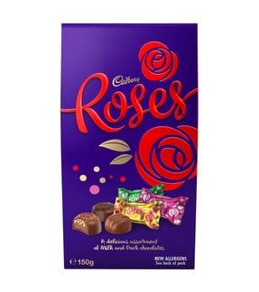 Cadbury Roses Chocolate Gift Bag 150g
