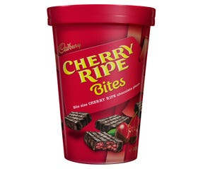 Cadbury Cherry Ripe Bites Chocolate Gift Tub 300g