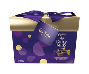 Cadbury Dairy Milk Gift Box 220g