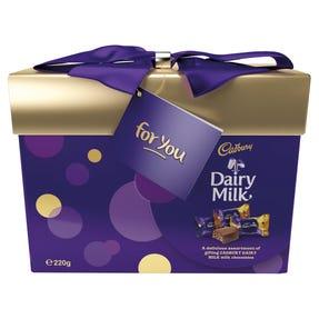 Cadbury Dairy Milk Gift Box 220g