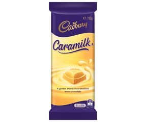 Cadbury Caramilk chocolate block 180g