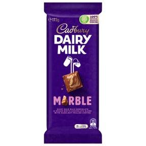 Cadbury Dairy Milk Marble chocolate block 173g