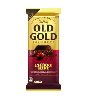 Cadbury Old Gold Dark Chocolate Cherry Ripe 180g