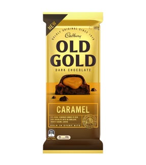 Cadbury Old Gold Dark Chocolate Caramel 180g