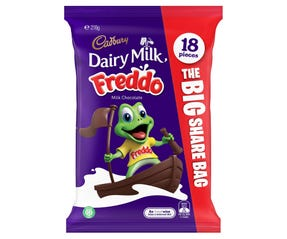 Cadbury Dairy Milk Freddo Share Bag 18 Pack 216g
