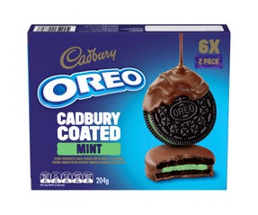Oreo Cadbury Coated Mint 204g