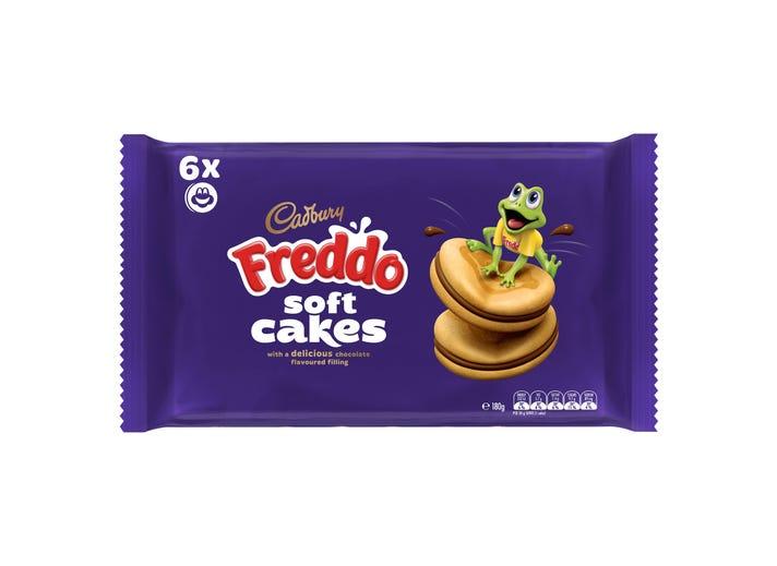 Cadbury Freddo Soft Cakes 180g