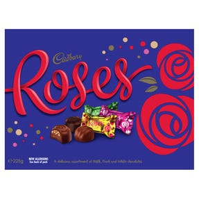 Cadbury Roses Chocolate Gift Box 225g