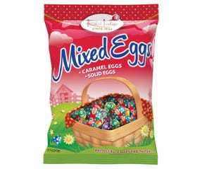 Red Tulip Mixed Easter Eggs 420g
