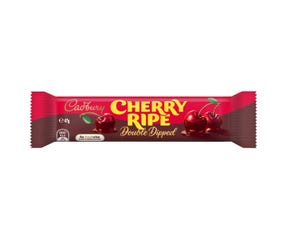 Cadbury Cherry Ripe Double Dipped chocolate bar 47g