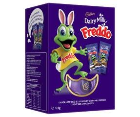 Cadbury Dairy Milk Freddo Egg Gift Box 124g