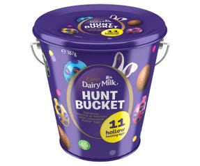 Cadbury Dairy Milk Hunt Bucket 187g