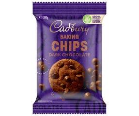 Cadbury Baking Dark Chocolate Chips 200g