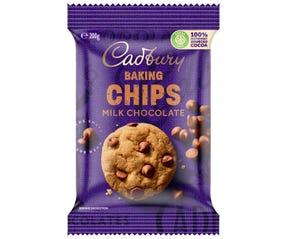 Cadbury Baking Milk Chocolate Chips 200g