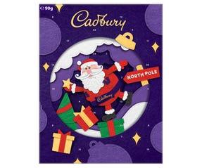 90g Cadbury Christmas Advent Calendar