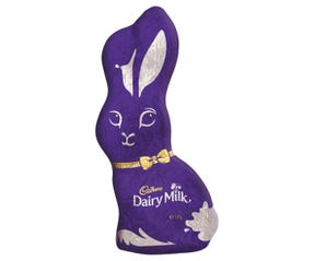 Cadbury Dairy Milk Purple Adult Easter Bunny 170g