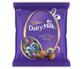 Cadbury Dairy Milk Easter Egg Bag 288g