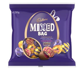 Cadbury Easter Mixed Egg Bag 230g