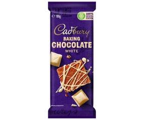 Cadbury Baking White Chocolate 180g