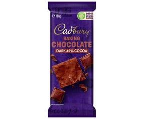 Cadbury Baking Dark Chocolate 180g