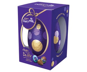 Cadbury Dairy Milk Egg Gift Box 400g