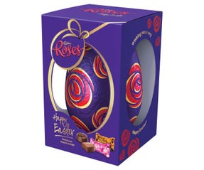 Cadbury Roses Egg Gift Box 400g