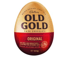 Cadbury Old Gold Dark Chocolate Easter Egg 100g