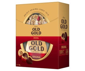 Cadbury Old Gold Dark Chocolate Gift Box 176g