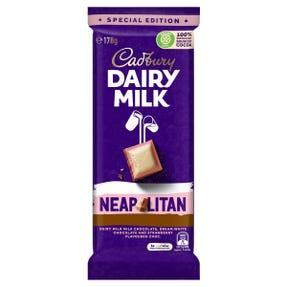 Cadbury Dairy Milk Fruit & Nut milk chocolate block 180g