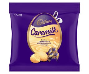 Cadbury Caramilk Easter Egg bag 230g