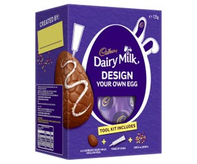 Cadbury Dairy Milk Design Your Own Egg Gift Box 125g