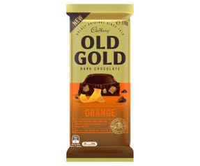Cadbury Old Gold Dark Chocolate Orange 170g