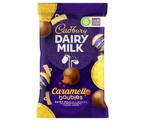 Cadbury Dairy Milk Caramello Baubles 117g