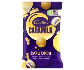 Cadbury Caramilk Baubles 113g