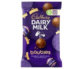 Cadbury Dairy Milk Baubles 113g