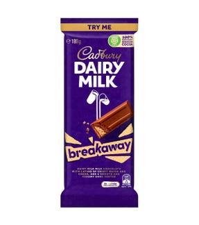 Cadbury Dairy Milk Breakaway 180g