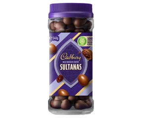 Cadbury Milk Chocolate Coated Sultanas 340g