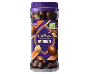 Cadbury Milk Chocolate Coated Hazelnuts 280g