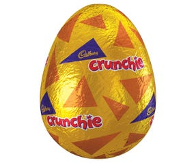 Cadbury Crunchie Hollow Easter Egg 110g