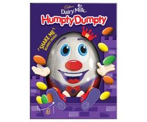 Cadbury Humpty Dumpty Egg Gift Box 130g