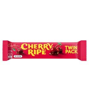 Cadbury Cherry Ripe chocolate bar Twin Pack 80g