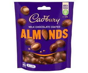 Cadbury Milk Chocolate Coated Almonds 120g