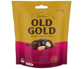 Cadbury Old Gold Fruit n Nut Dark Chocolate Coated Bites 120g
