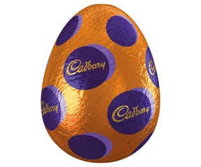 Cadbury Dairy Milk Hollow Easter Egg 100g