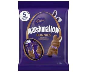 Cadbury Vanilla Easter Marshmallow Bunny 175g