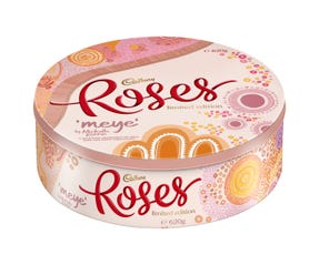 Cadbury Roses 620g Chocolate Gift Tin Limited Edition by Michelle Kerrin