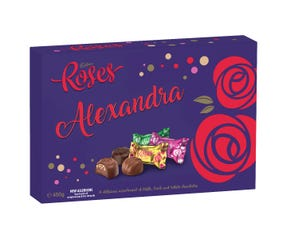 Personalised Cadbury Roses 450g