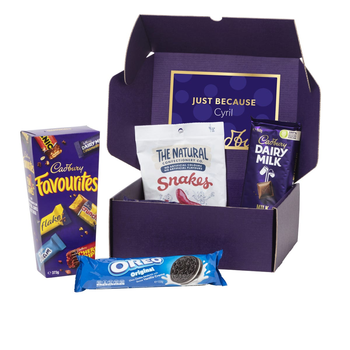 Cadbury Online Snack Box  - Small
