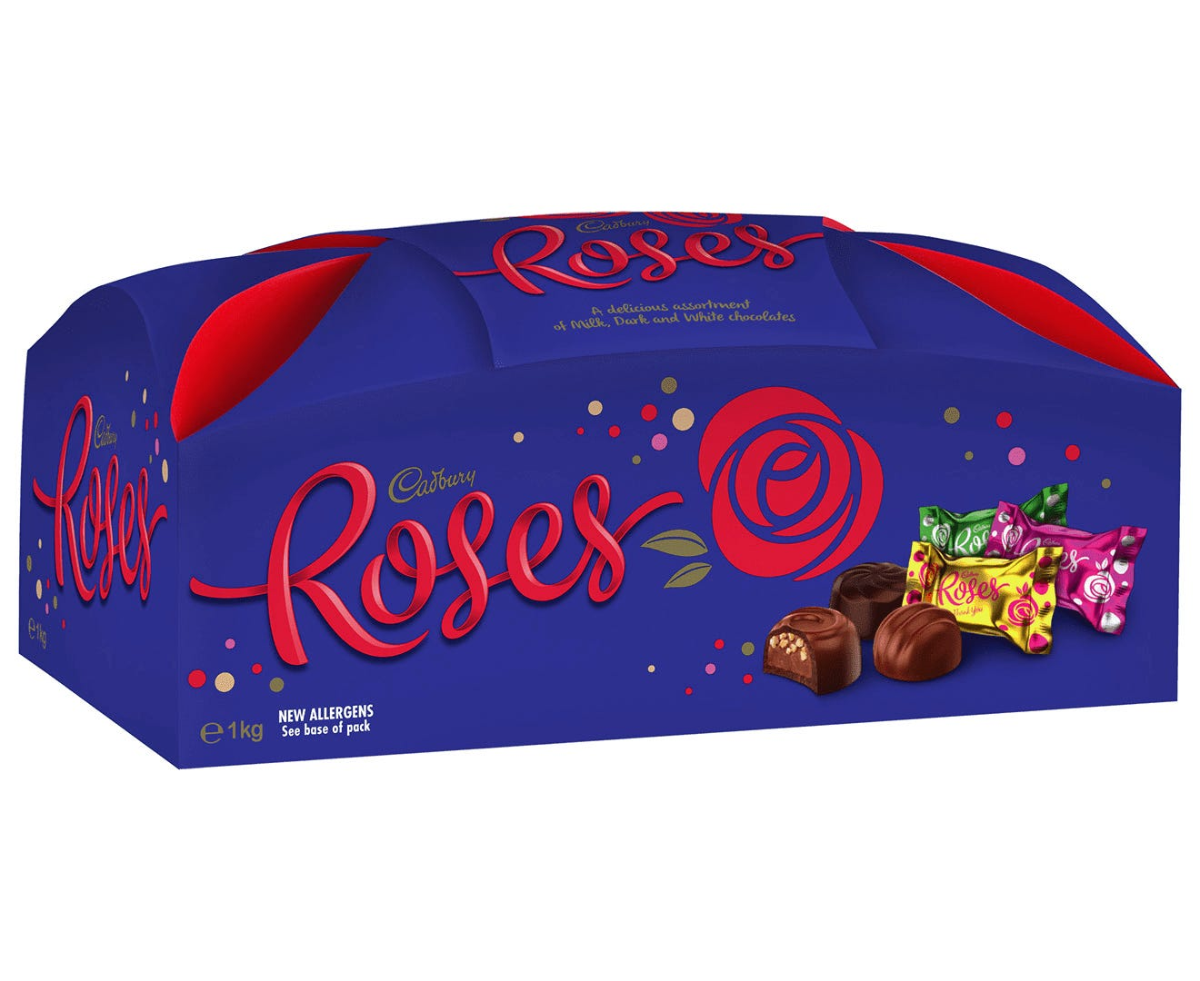 Cadbury Roses Chocolate Gift Box 1kg